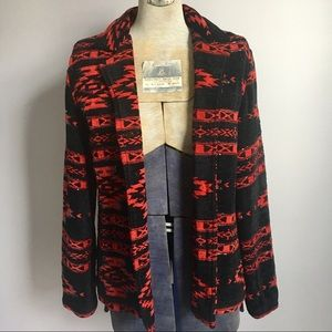 VTG 90s Chenille Beaded Blazer Jacket